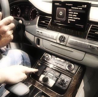 MMI touch : système Audi intelligent