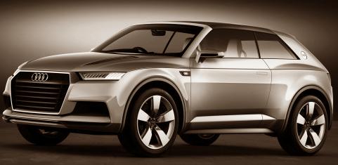 Suv Audi crosslane coupé concept